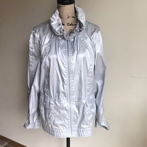 Chico's silver jacket